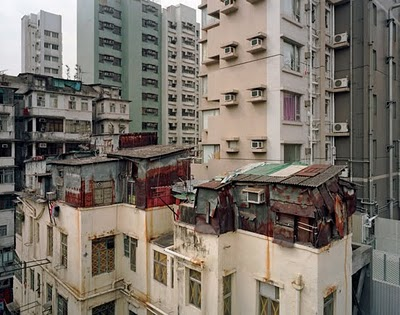 Hong Kong Slum Apartments Rooftop Slums in Hong Kong