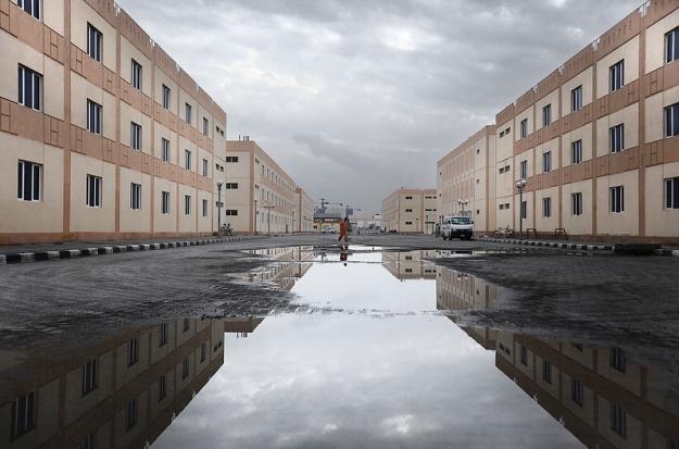 Mussafah labor camp-Hoagland