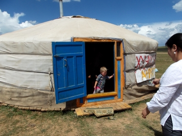 Traditional Mongolia ger (photograph property of AHI).