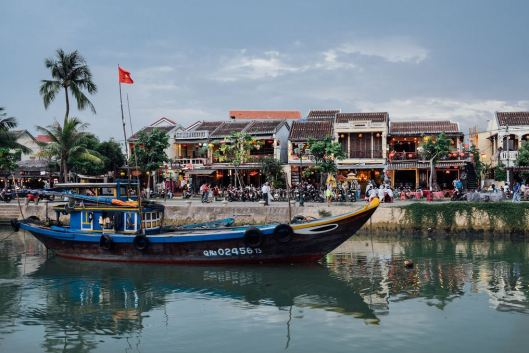 Canal in Hoi An.