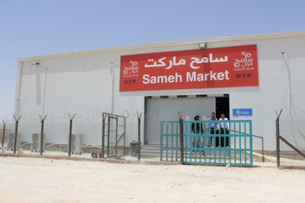 Azraq is among the first refugee camps to include a grocery store. Aid agencies hope that this would foster a sense of normalcy.